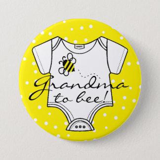 Pin's La grand-maman à être jaune gaffent l'abeille