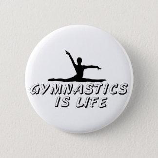 Pin's La gymnastique est la vie