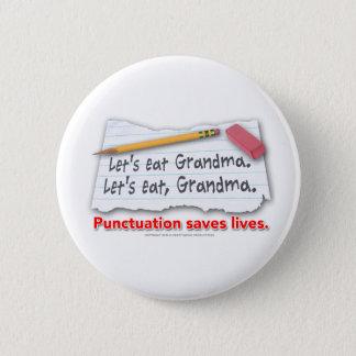 Pin's La ponctuation sauve les vies
