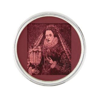Pin's La Reine Elizabeth I dans le rose