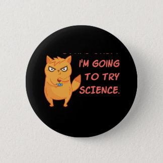 Pin's La Science drôle de robot de scientifique