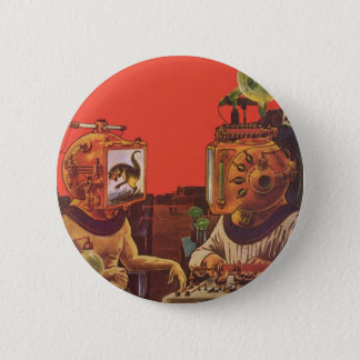 Pin's La science-fiction vintage, casques étrangers de