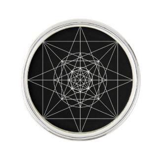 Pin's La troisième géométrie sacrée dimensionnelle