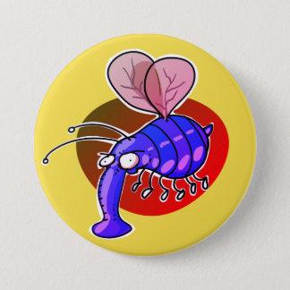 Pin's laid gaffez la bande dessinée drôle d'abeille