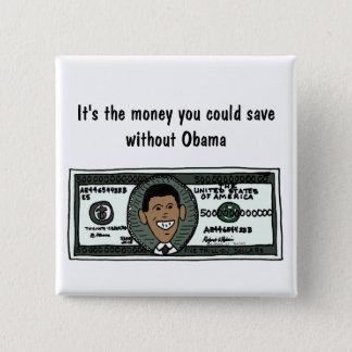 Pin's L'AR anti bouton politique drôle d'Obama