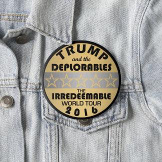 Pin's L'atout de Z et le Deplorables voyagent politique