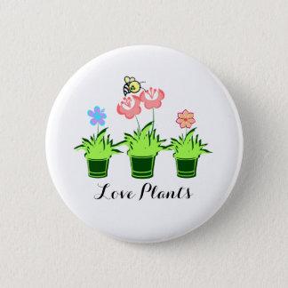 """Pin's Le """"amour plante"""" le bel insigne"""