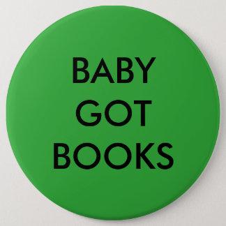 Pin's Le bébé a obtenu le bouton de livres