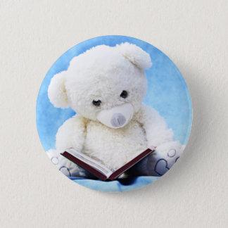 Pin's Le bel ours de nounours blanc a lu le livre
