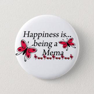 Pin's Le bonheur est un PAPILLON de Mema