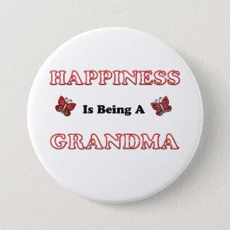 Pin's Le bonheur est une grand-maman