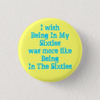 Pin's Le bouton d'années '60