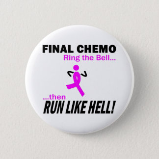 Pin's Le chimio final courent beaucoup - cancer du sein
