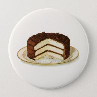 Pin's Le chocolat vintage a glacé le gâteau de couche