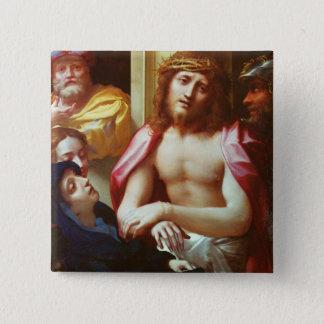 Pin's Le Christ s'est présenté aux personnes (l'ecce