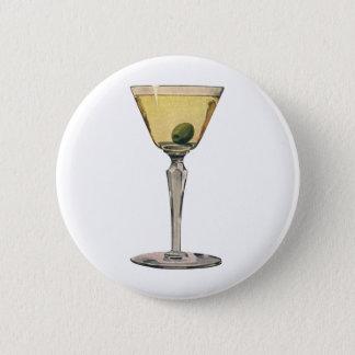 Pin's Le cru boit des boissons, cocktail d'olive de
