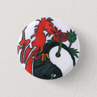 Pin's Le gardien à la rose du Yin et du Yang