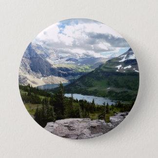 Pin's Le lac caché donnent sur le parc national Montana