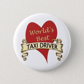 Pin's Le meilleur chauffeur de taxi du monde