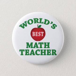 Pin's Le meilleur professeur de maths du monde