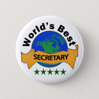Pin's Le meilleur secrétaire du monde