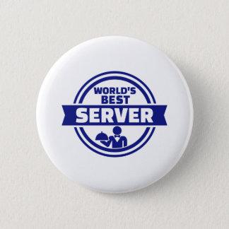 Pin's Le meilleur serveur du monde