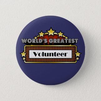 Pin's Le plus grand volontaire du monde