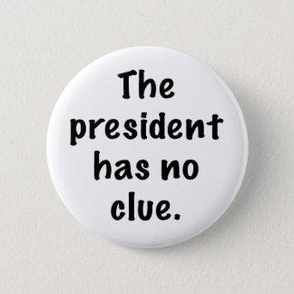 Pin's Le président n'a aucun indice