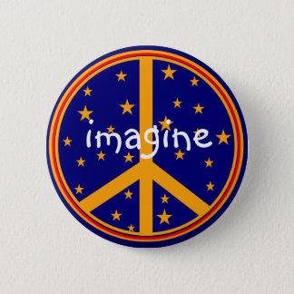Pin's Le rétro symbole de paix imaginent des boutons