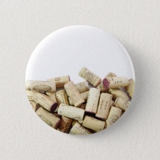 Pin's Le vin bouche le bouton