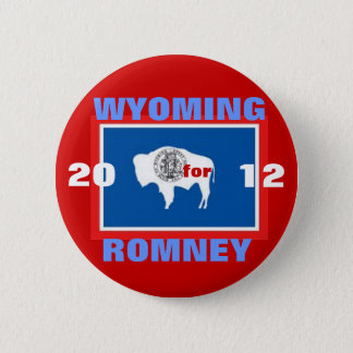 Pin's Le Wyoming pour Romney 2012