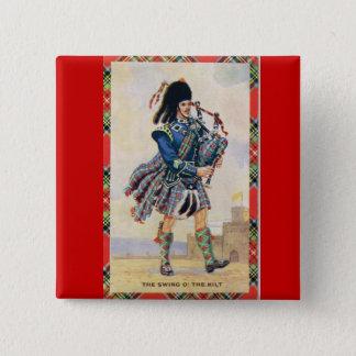 Pin's L'Ecosse vintage, suivent les cornemuses