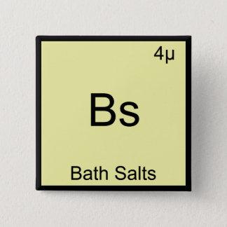 Pin's Les BS - Pièce en t drôle de chimie de Meme