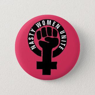 """Pin's """"Les femmes méchantes unissent"""" des droits de la"""