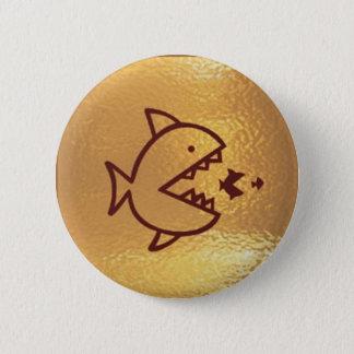 Pin's Les GRANDS poissons mangent de PETITS POISSONS
