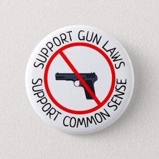 Pin's Les lois d'arme à feu de soutien, soutiennent le