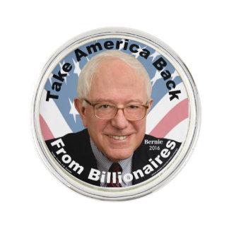 Pin's Les ponceuses de Bernie rapportent le Pin de