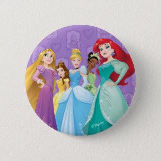 Pin's Les princesses de Disney | courageux est féroce