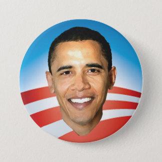 Pin's Lever de soleil d'Obama bouton de 3 pouces