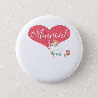 Pin's Licorne - conception magique avec le coeur