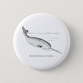 Pin's Licorne de baleine de Narwhal de la mer