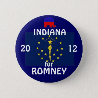 Pin's L'Indiana pour Romney 2012