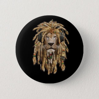Pin's lion de reggae