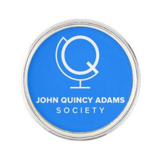 Pin's Logo de bleu de Pin de revers de JQAS