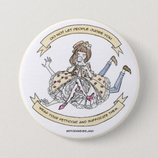 Pin's Lolita classique suffoquent