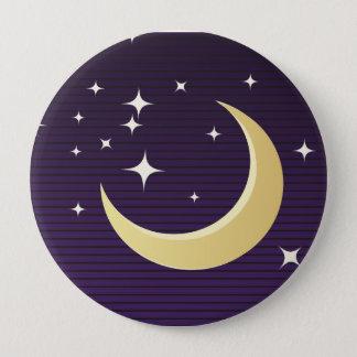 Pin's Lune étoilée