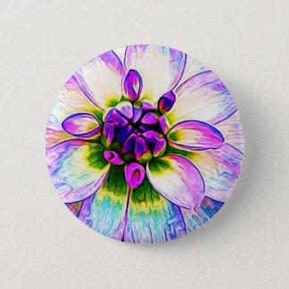 Pin's Macro floral pourpre de fleur de pétales de fleur