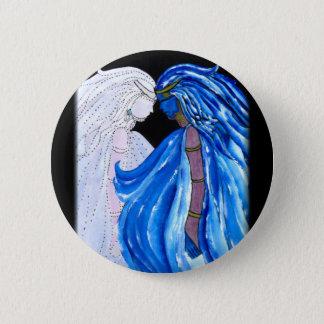 Pin's Madame de la flamme bleue