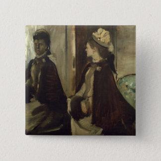 Pin's Madame Jeantaud d'Edgar Degas | dans le miroir