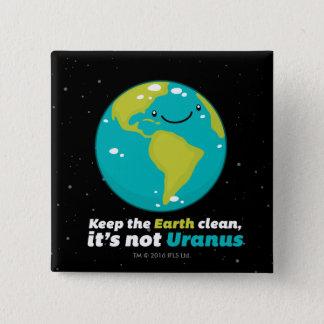 Pin's Maintenez la terre propre